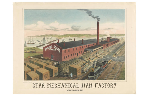 Portland's Mechanical Man Factory