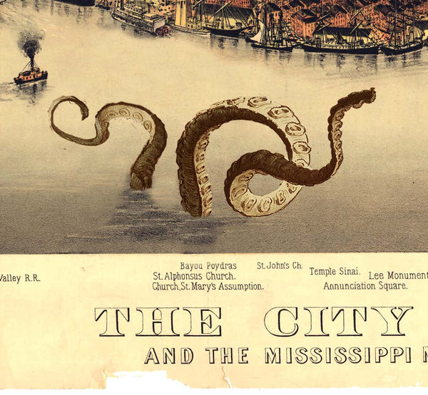 New Orleans and the Mississippi Monster