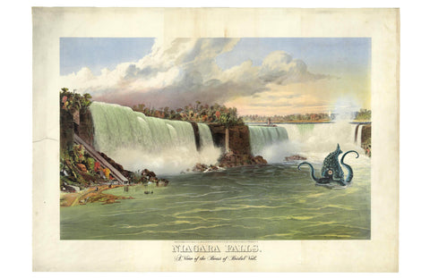 A View of Niagara Falls