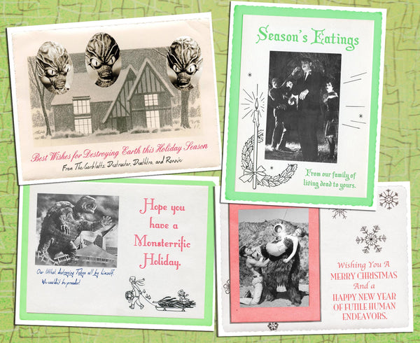 Vintage Holiday Cards Variety Pack