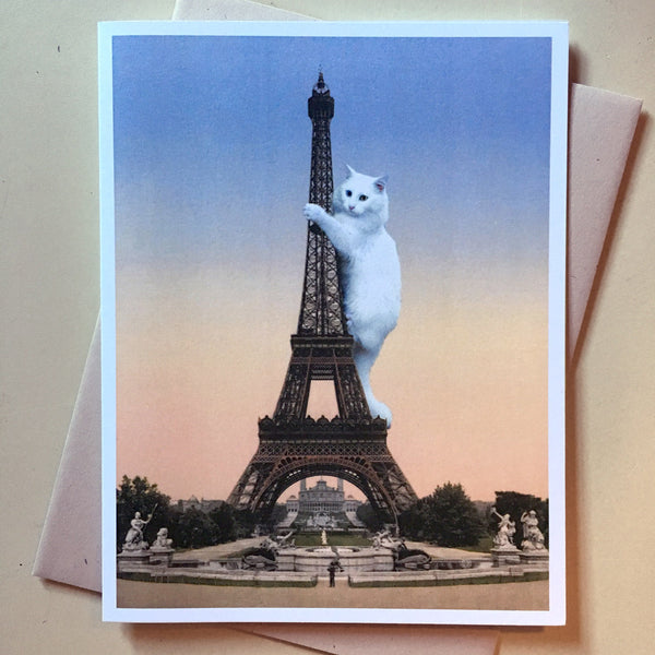 Cat-astrophe: The Eiffel Tower