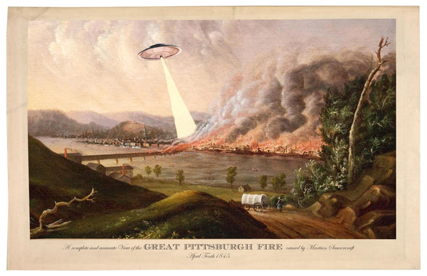 The Great Pittsburgh Fire of 1845