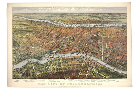 A View of Philadelphia, 1875