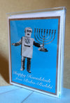 Set of 8 Robo Rabbi Cards