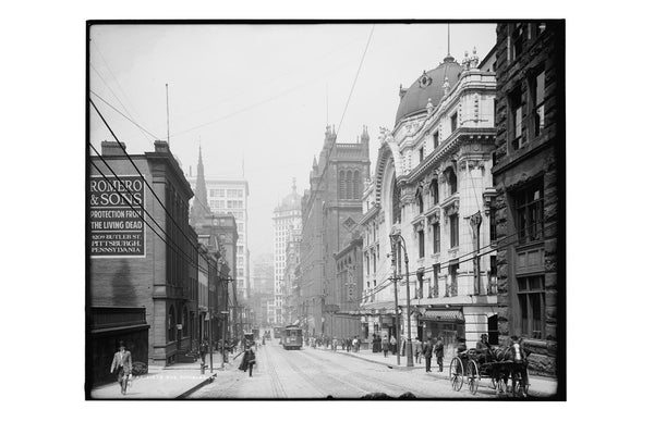 Sixth Avenue, Pittsburgh, 1905