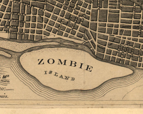 Zombie Island in St. Louis