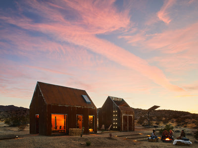 Technology & off-grid living at Joshua Tree Folly