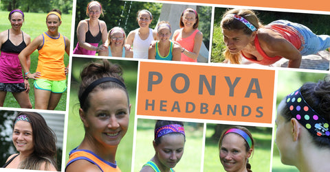 Ponya Non-Slip Headbands Collage