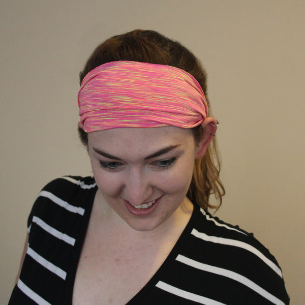 Pink Heather Unlined Tube Band
