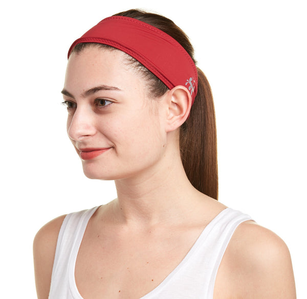 Brick Red Sweatband - Ponya Bands