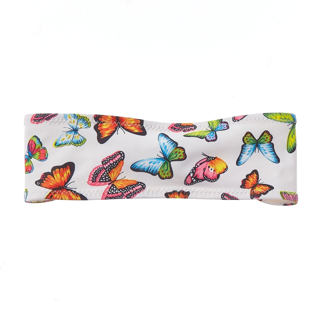 Butterfly Bamboo Terry Lined Sweatband - Ponya Bands