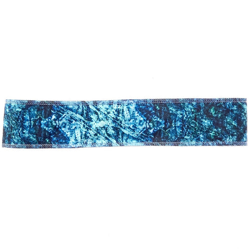 Deep Blue Sea Non-Slip Headband - Ponya Bands