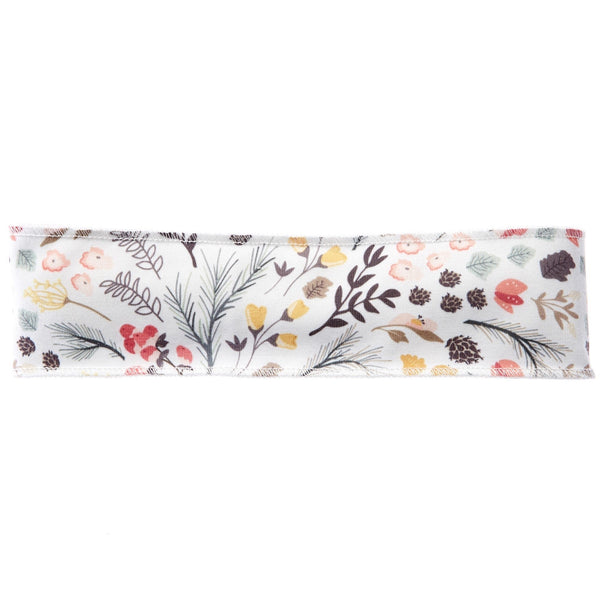 Floral Berry Non-Slip Headband - Ponya Bands