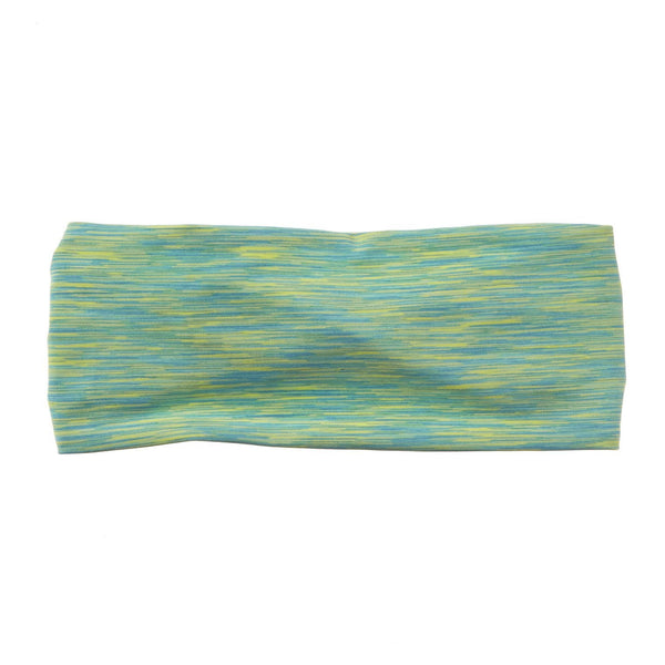 "Green Heather 4"" Bamboo Jersey Lined Band - Ponya Bands"