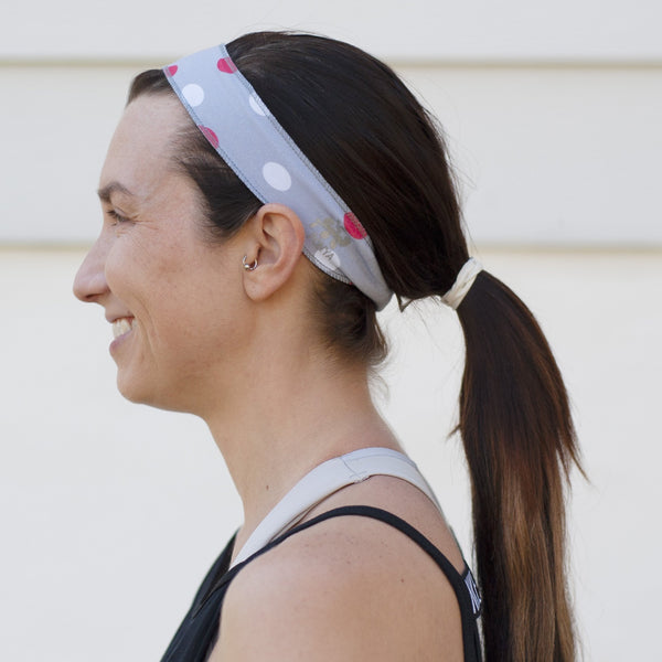 Holiday Polka Dot Non-Slip Headband - Ponya Bands