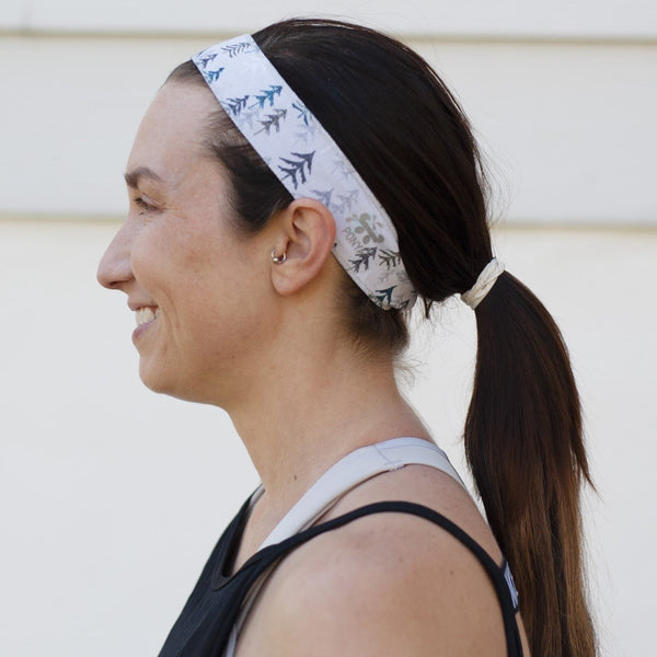 Icy Forest Non-Slip Headband - Ponya Bands