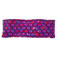 Load image into Gallery viewer, Mermaid Bamboo Terry Lined Sweatband - Ponya Bands