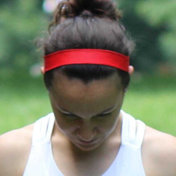 Red Non-Slip Headband - Ponya Bands