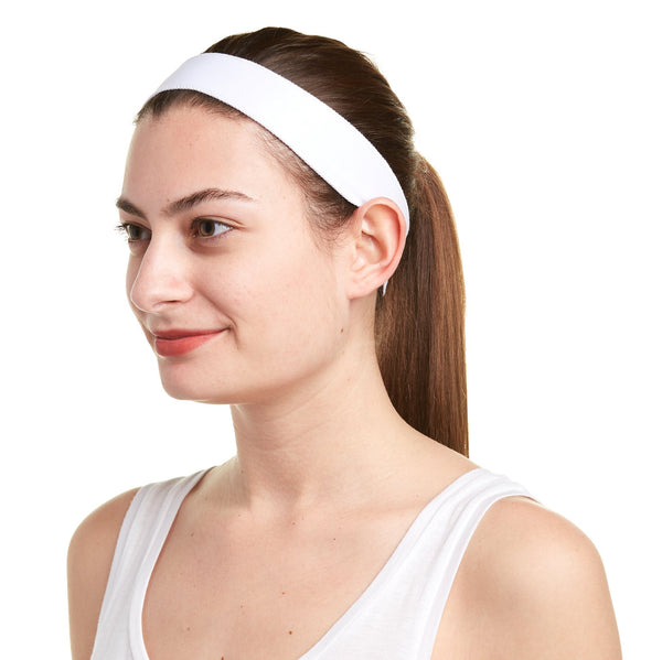 Snow White Non-Slip Headband - Ponya Bands