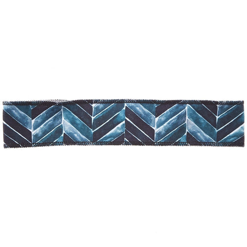 Teal Chevron Non-Slip Headband - Ponya Bands
