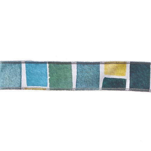 Watercolor Blocks Non-Slip Headband - Ponya Bands