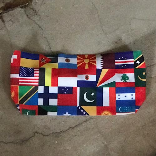 World Flags Unlined Band - Ponya Bands
