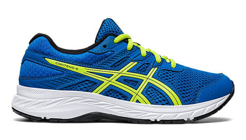 Asics Gel-Contend 6 GS - Directoire Blue/Lime Zest