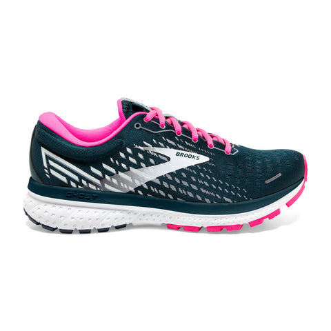Brooks Ghost 13 Womens (Neutral) - Pond/Pink/Ice
