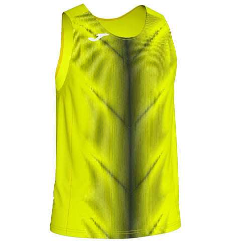 Joma Olimpia Running Vest- Fluo Yellow/Black