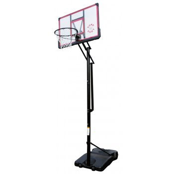 SURE SHOT 513 EasiJust Unit with Acrylic Backboard & Pole Padding