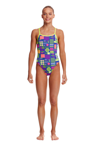 Funkita Girls Single Strap One Piece - Packed Lunch