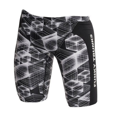Funky Trunks Training Jammers Boys - Black Hole