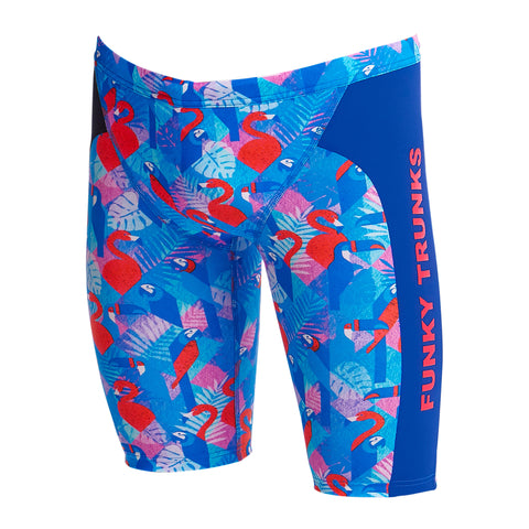 Funky Trunks Training Jammers Boys - Flaming Vegas