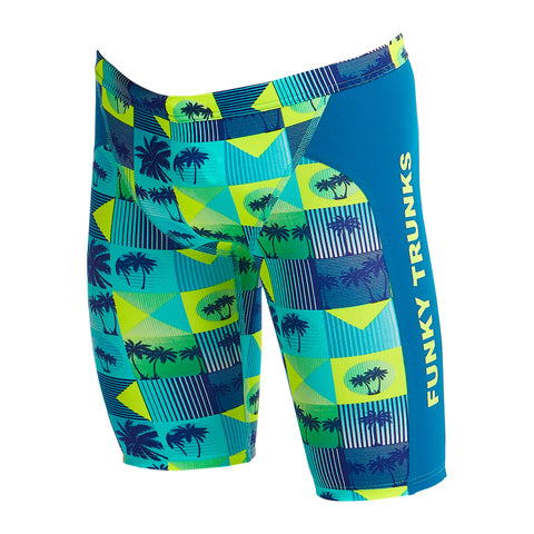 Funky Trunks Training Jammers Boys - Pop Tropo
