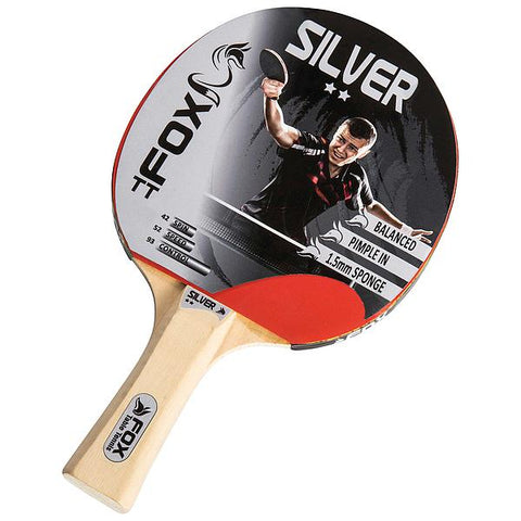 Fox TT Silver 2 Star Table Tennis Bat