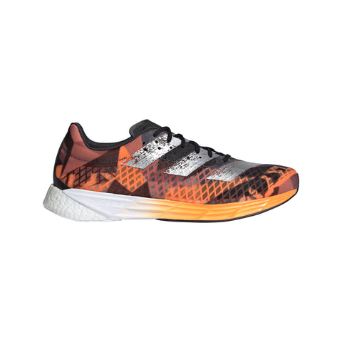 Adidas Adizero Pro - Core Black / Silver Metallic / Signal Orange
