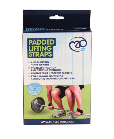 Fitness Mad- Padded lifting strap