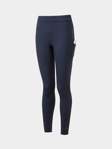 Ron Hill Tech Revive Stretch Tight - Deep Navy/Spa Green
