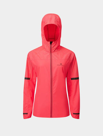 Hill Life Runner Night Jacket Womens - Hot Pink/Reflect