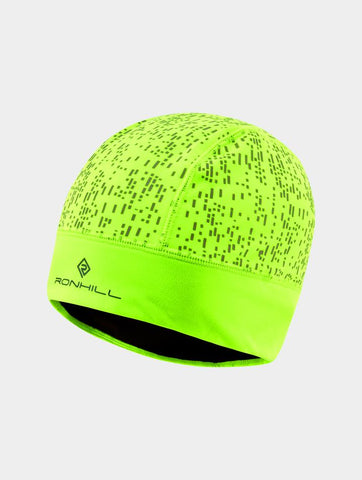 Ron Hill Night Runner Beanie - Fluo Yellow/Reflect