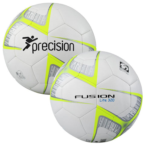 Precision Fusion Lite Ball 320g - White/Fluo Yellow/Black