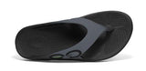 OOFOS Mens OOriginals Black/Graphite