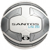 Precision Santos Lite Training Ball 350g - White/Silver/Black Size 5
