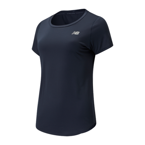 New Balance Accelerate SS Tee - Navy