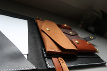 Load image into Gallery viewer, Leather Travel Wallet