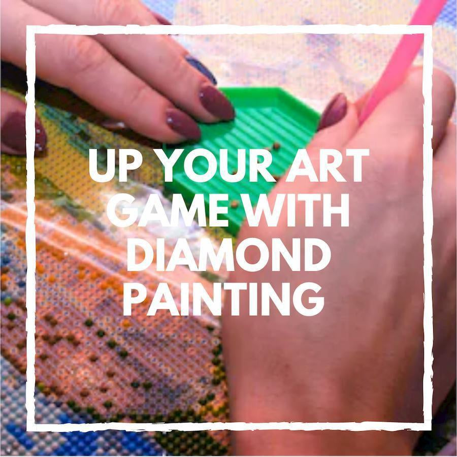 Up Your Art Game With Diamond Painting Tricks, Tips, And Hacks