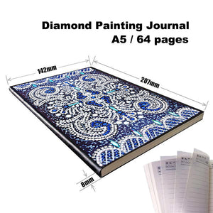 Diamond Painting Journal — Shades Of Blue