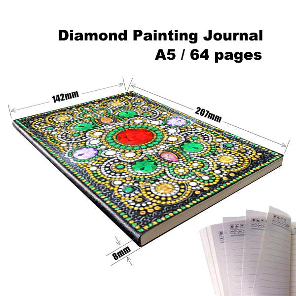 Diamond Painting Journal — Emerald Mandala