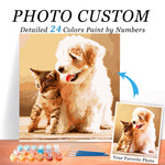 custom paint by number kits