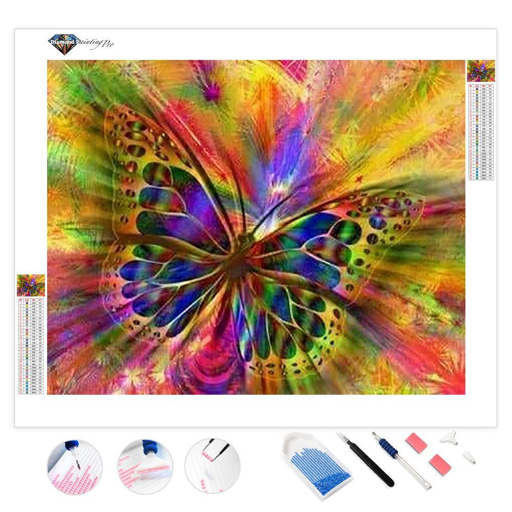 Butterfly Color Trip | Diamond Painting